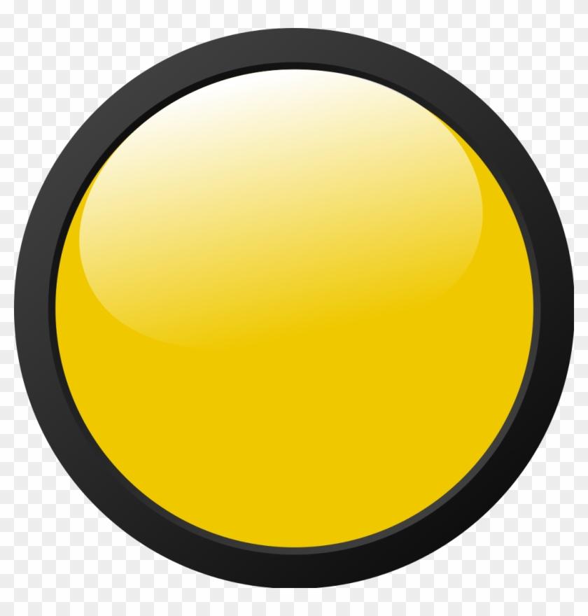 Yellow Light Icon.