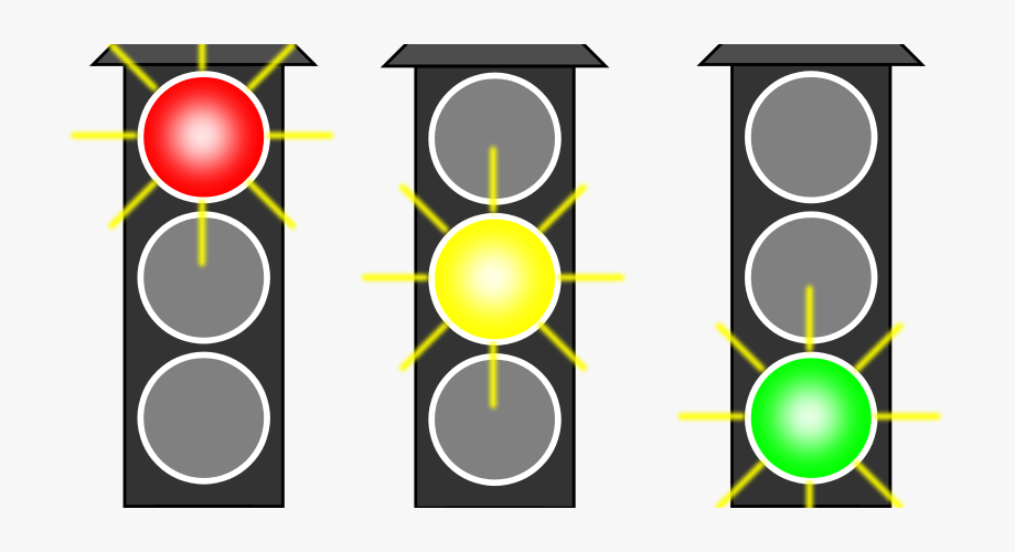 For Developers Yellow Stop Light Clipart.