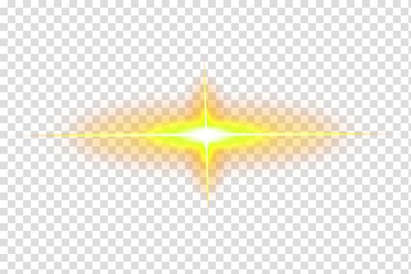 Yellow ray of light, Yellow Light, Yellow light effect element.