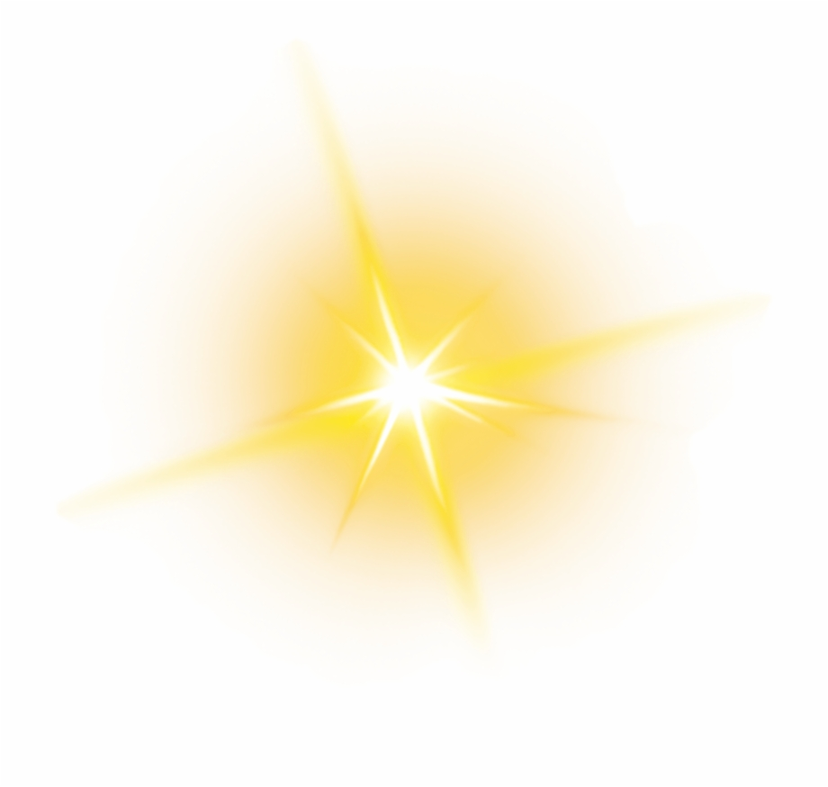 Yellow Sparkle Png.