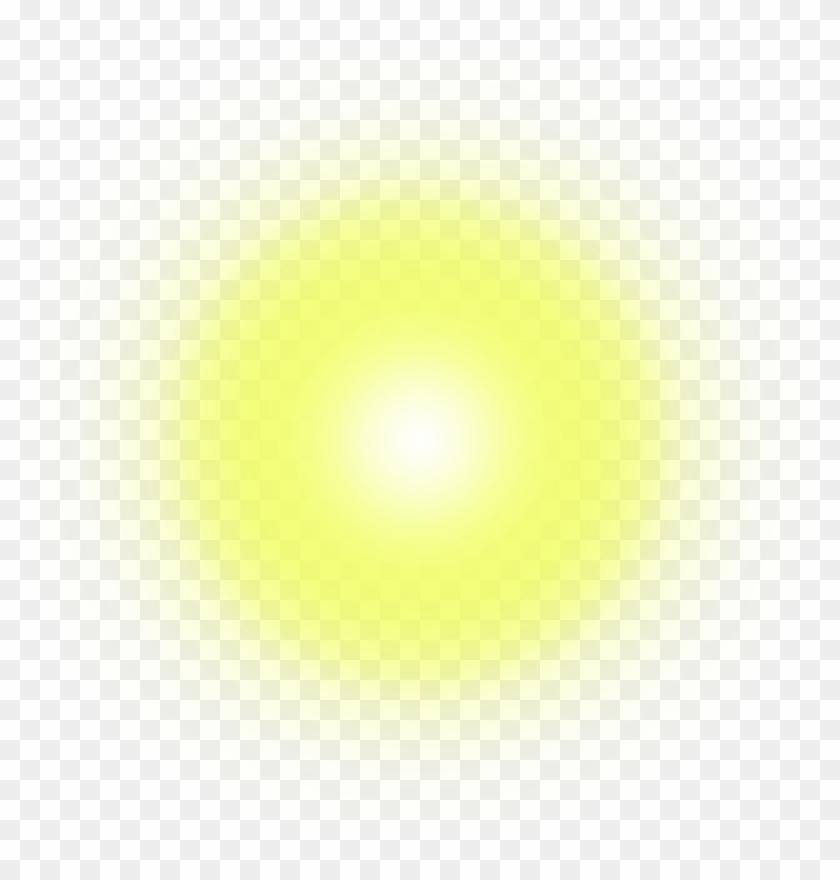 Light Effect Lens Spot Spotlight Bright Flare Yellow.