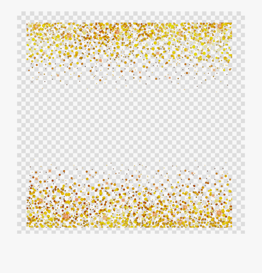 Yellow Line Confetti Transparent Image Clipart Free.