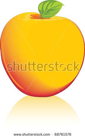 Yellow Ripe Mango Clipart Stock Vector 142135333.