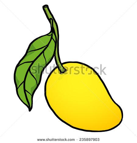 Yellow mango clipart - Clipground