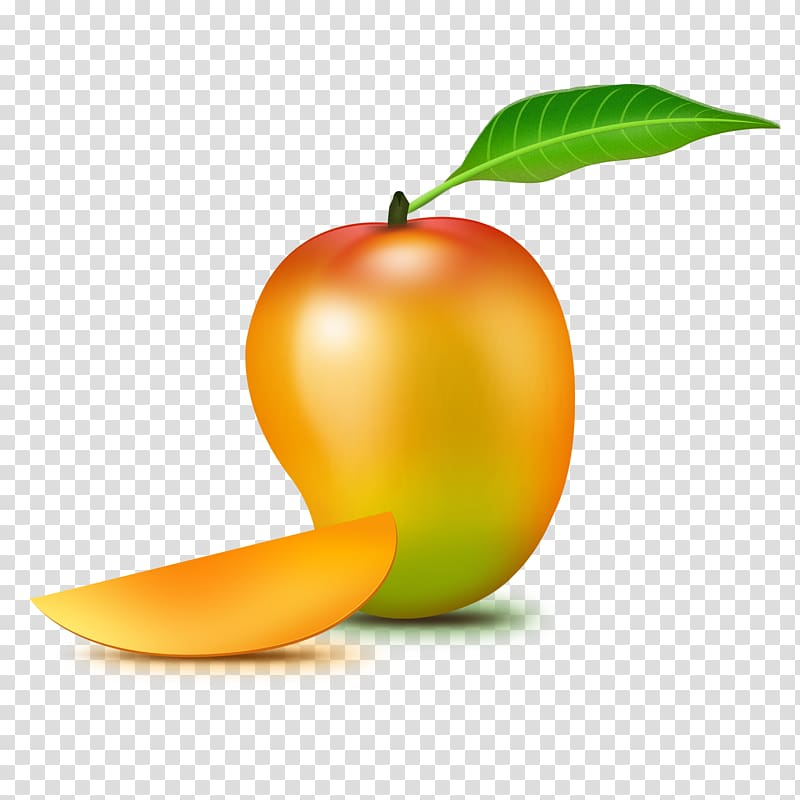 Yellow mango , Mango , Mango transparent background PNG.