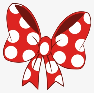 Free Minnie Mouse Bow Clip Art with No Background.