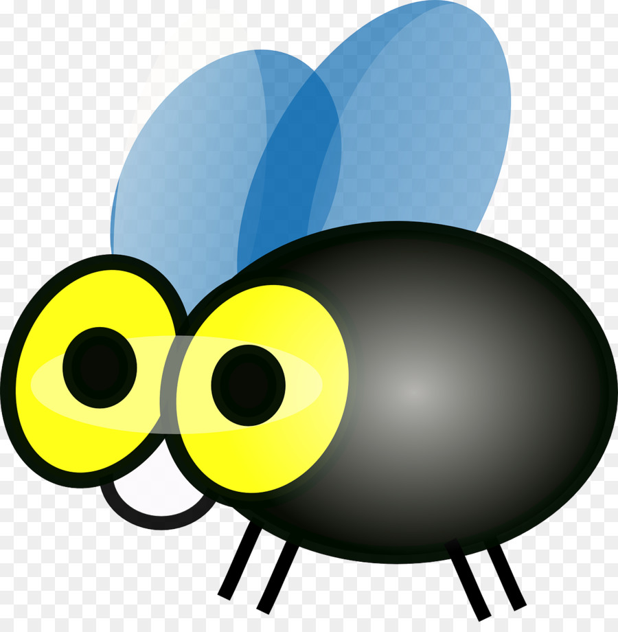 Mosquito Cartoon clipart.