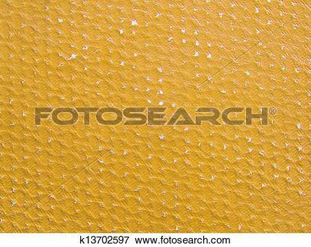 Picture of Rubbed yellow ochre paper texture.Background. k13702597.