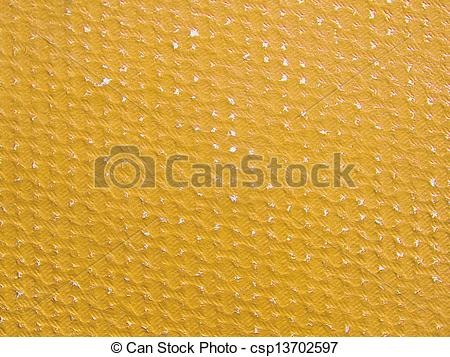 Stock Photographs of Rubbed yellow ochre paper texture.Background.