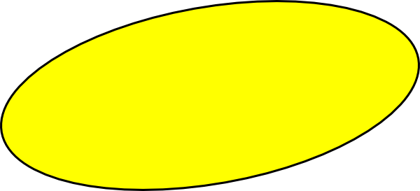 1343 Oval free clipart.
