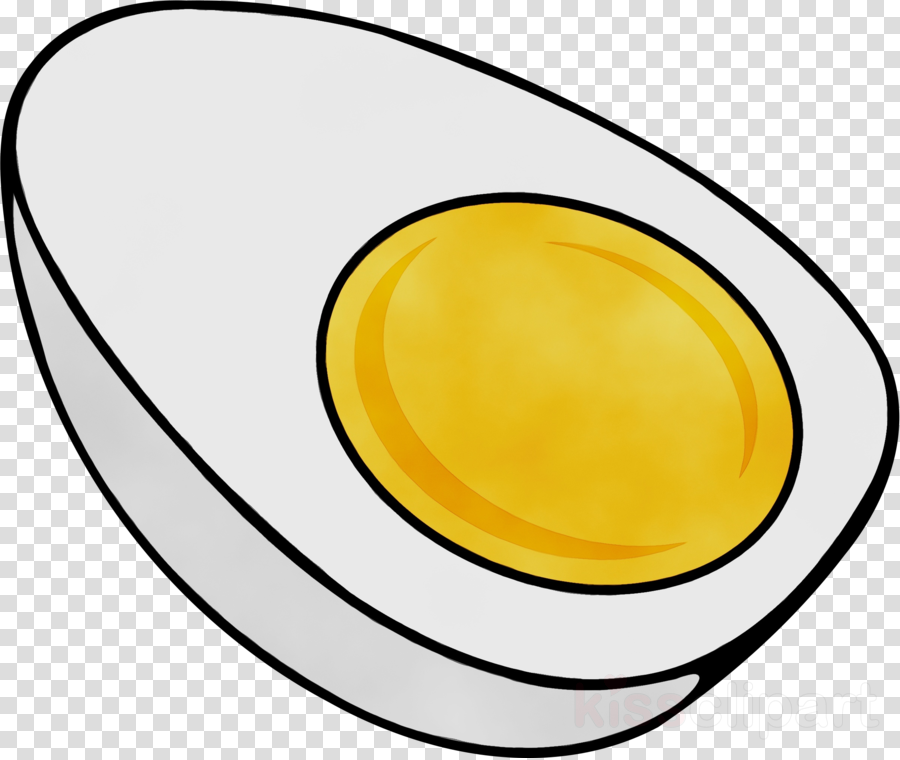 yellow oval clipart.