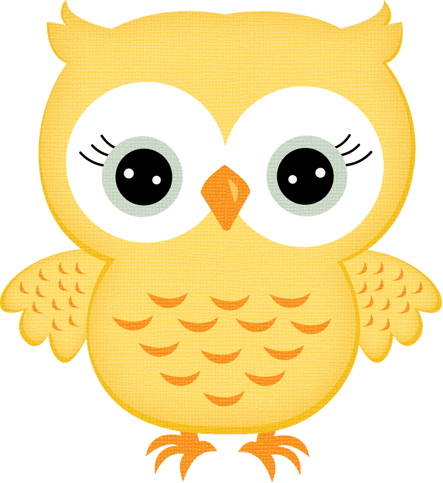 Yellow Owl Clipart Transparent Png.