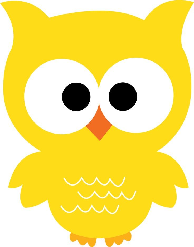Yellow owl clipart 1 » Clipart Station.