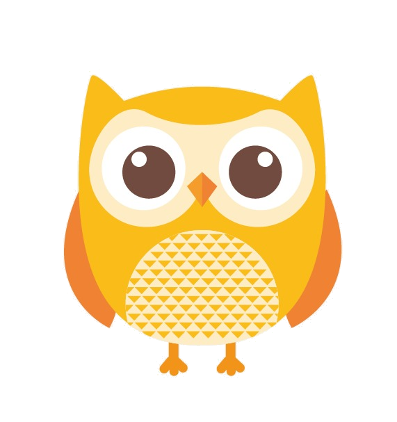 Yellow Owl Clipart Transparent Png 4.