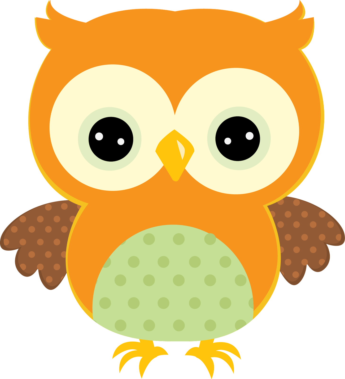 Yellow owl clipart 3 » Clipart Station.