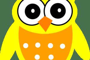 Yellow owl clipart » Clipart Portal.