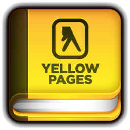 Yellow Pages Book Icon.