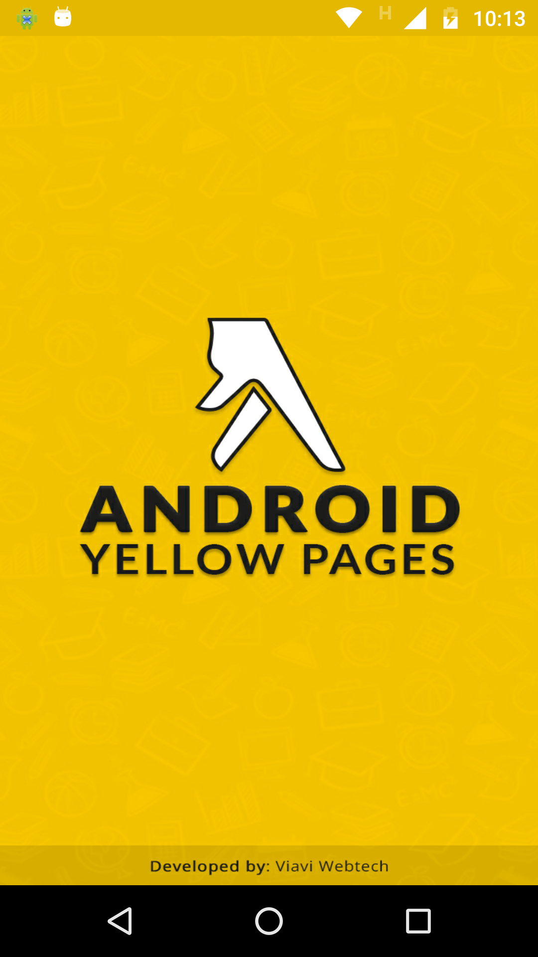 Android Yellow Pages With Material Design.