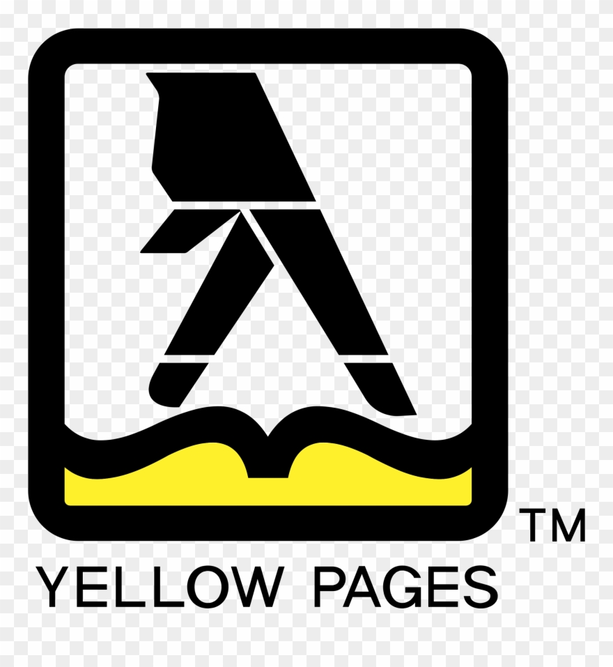 Yellow Pages Logo Png Transparent Clipart (#2793384).