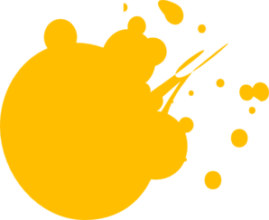 Free Yellow Paint Splatter Png, Download Free Clip Art, Free.