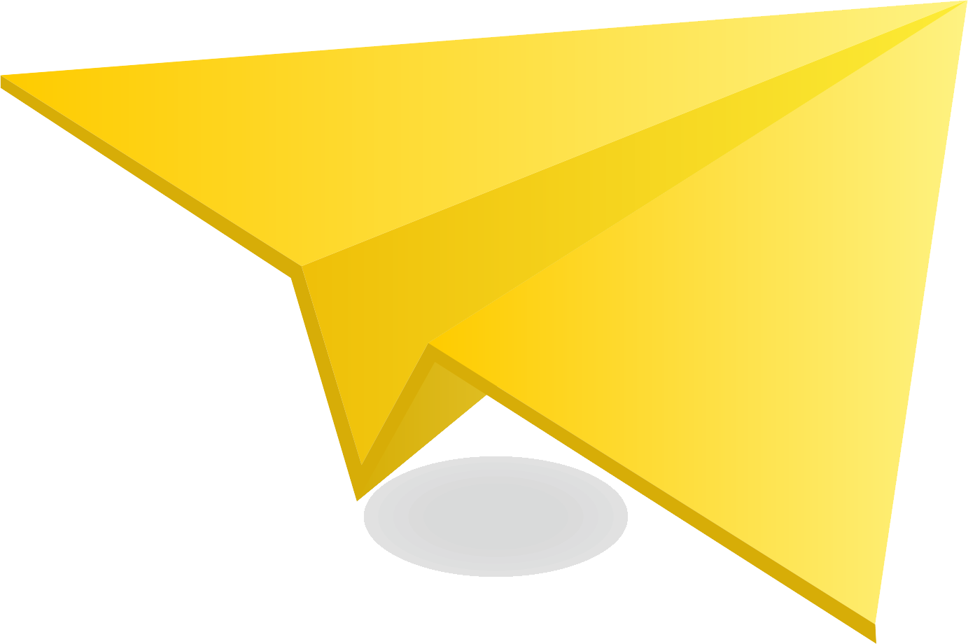 Pin about Paper plane on Yellow Paper Plane.