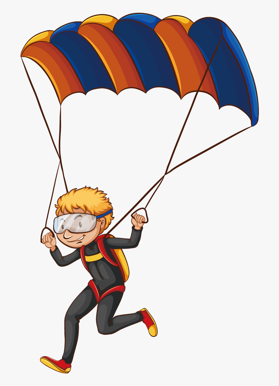 Parachute Clipart Yellow.