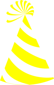 Yellow And White Hat Clip Art at Clker.com.