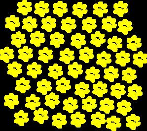 Yellow Paw Prints Clip Art at Clker.com.