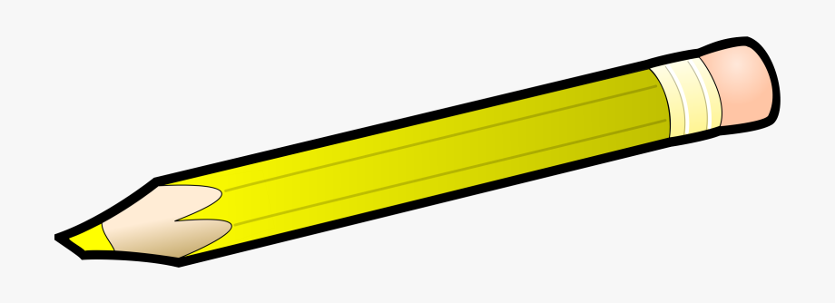 Yellow Pencil Clipart.