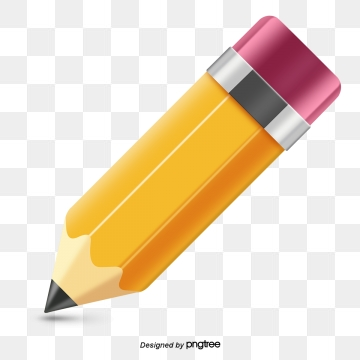 Yellow Pencil PNG Images.