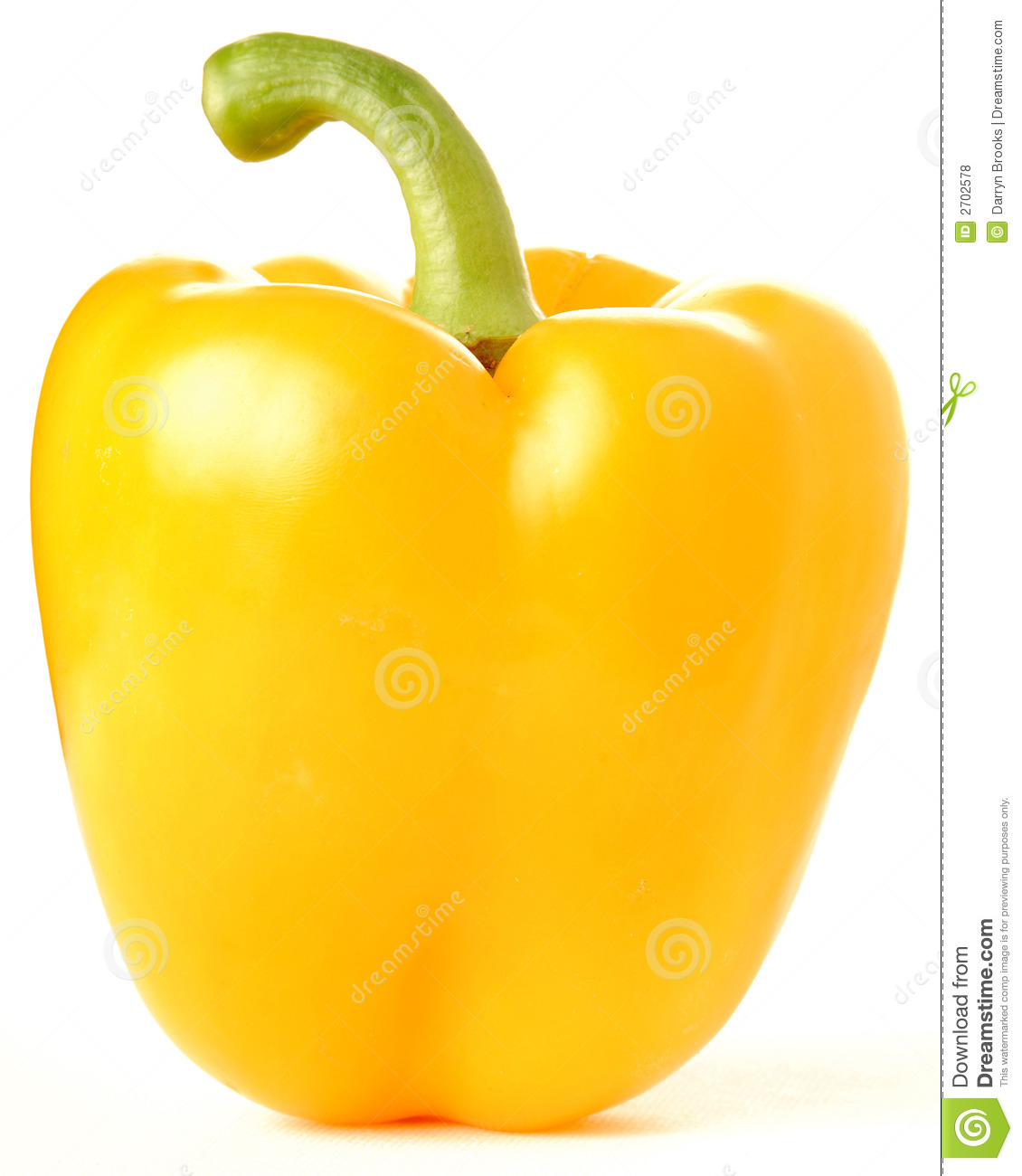 Yellow pepper clipart.
