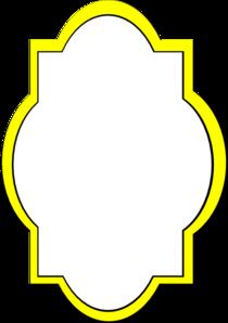 Yellow Frame Clip Art at Clker.com.