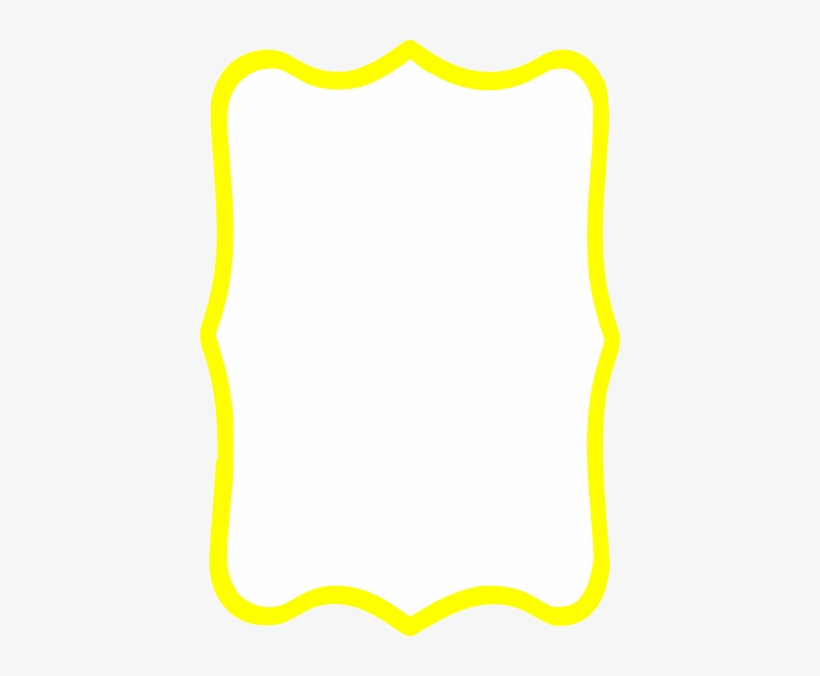 Yellow Frame Clipart.