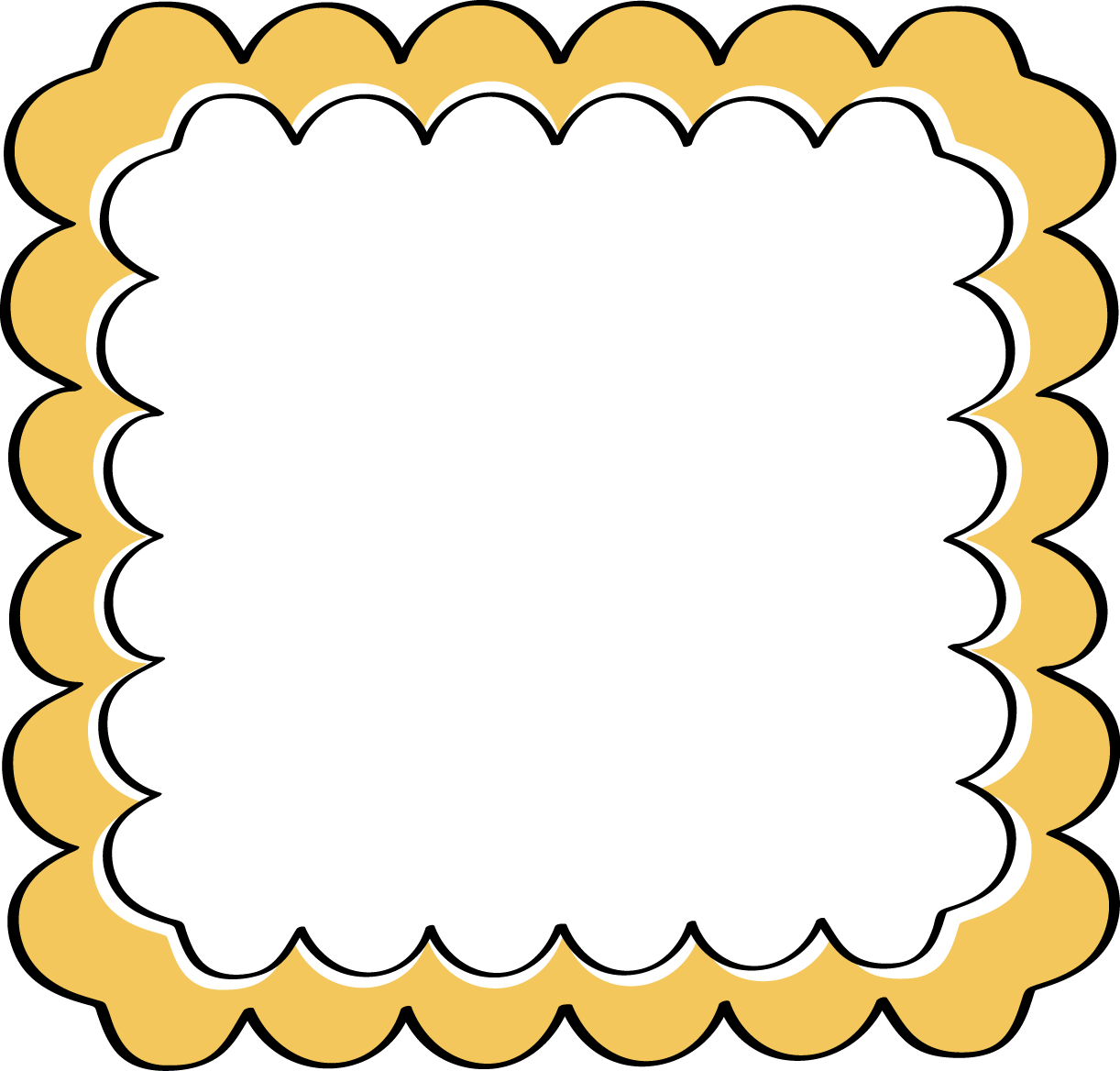 Frames clipart yellow, Frames yellow Transparent FREE for.
