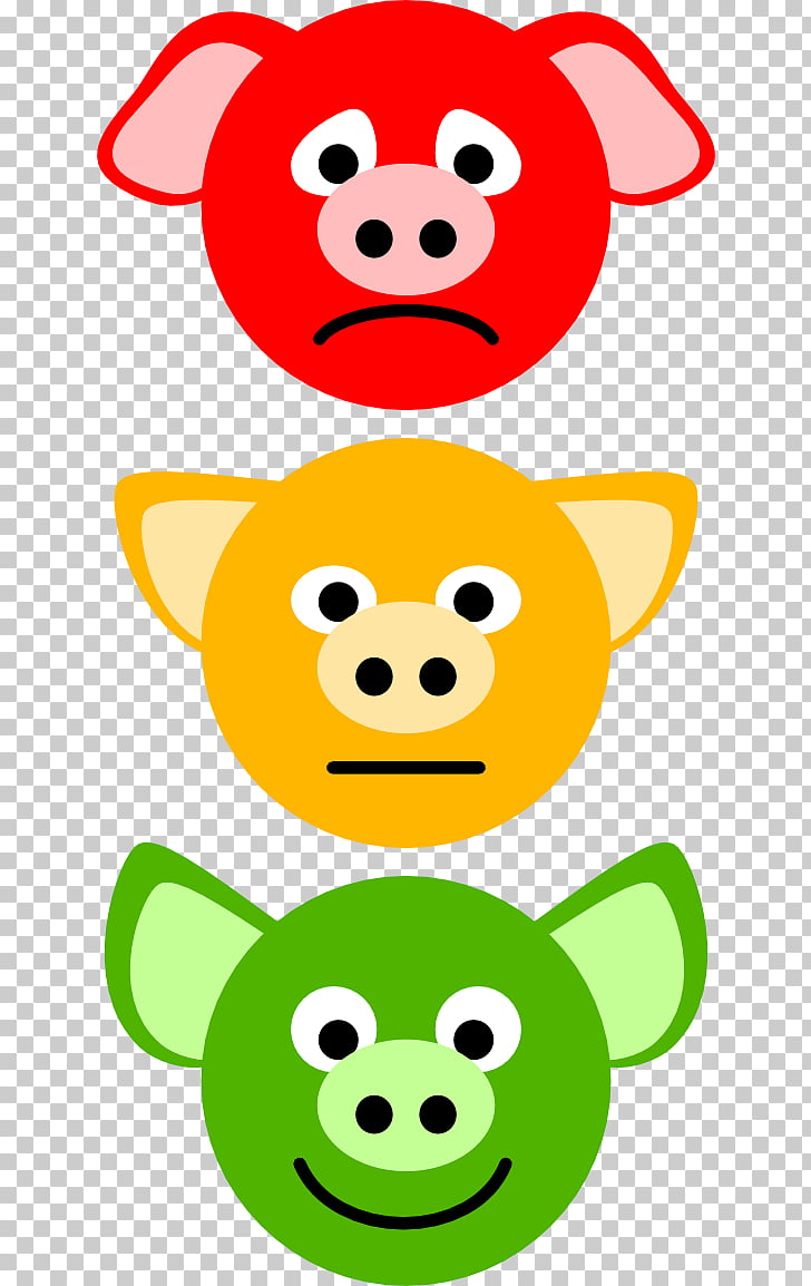 Domestic pig , s Of Traffic Lights PNG clipart.
