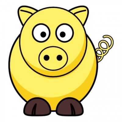 Happy Yellow Pig Day 2014 HD Images, Wallpapers For Whatsapp.