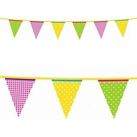Amazon.com: 13ft Summer Garden Party Green Yellow Pink.