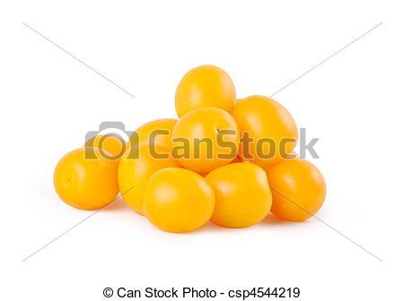 Stock Photographs of Yellow plums csp4544219.