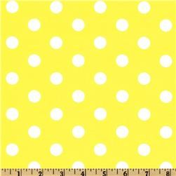 Spot On Polka Dots Yellow.