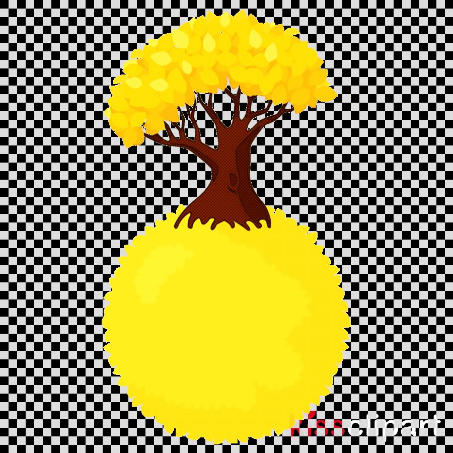 yellow pom.