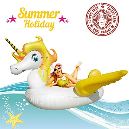 Amazon.com: Miacooo Giant Unicorn Swimming Pool Float.