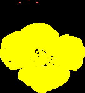 Yellow Poppy Clip Art at Clker.com.