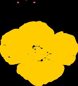 Yellow Poppy2 Clip Art at Clker.com.