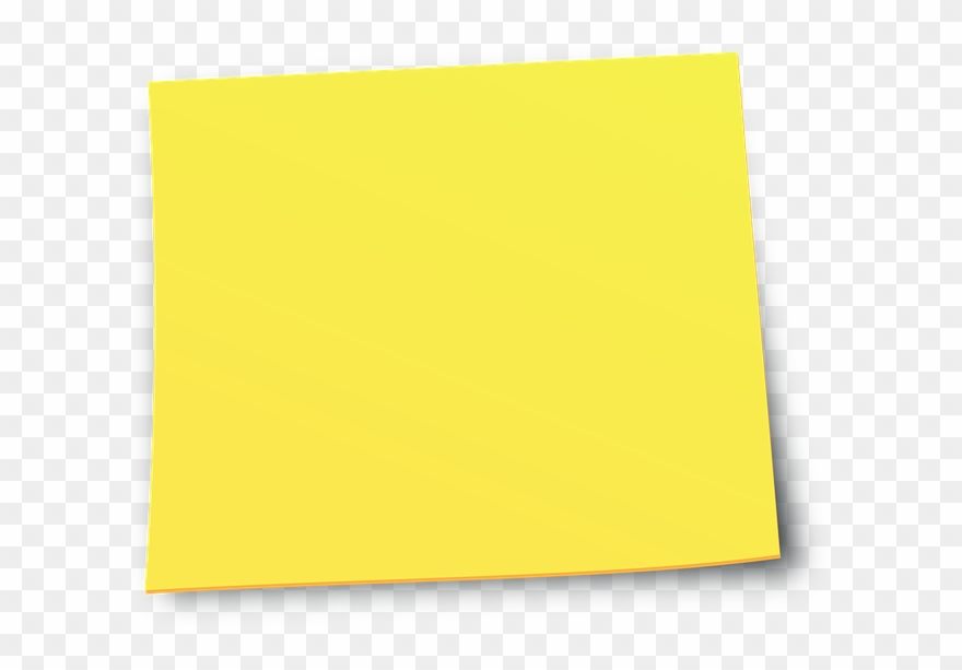 Yellow Sticky Notes.