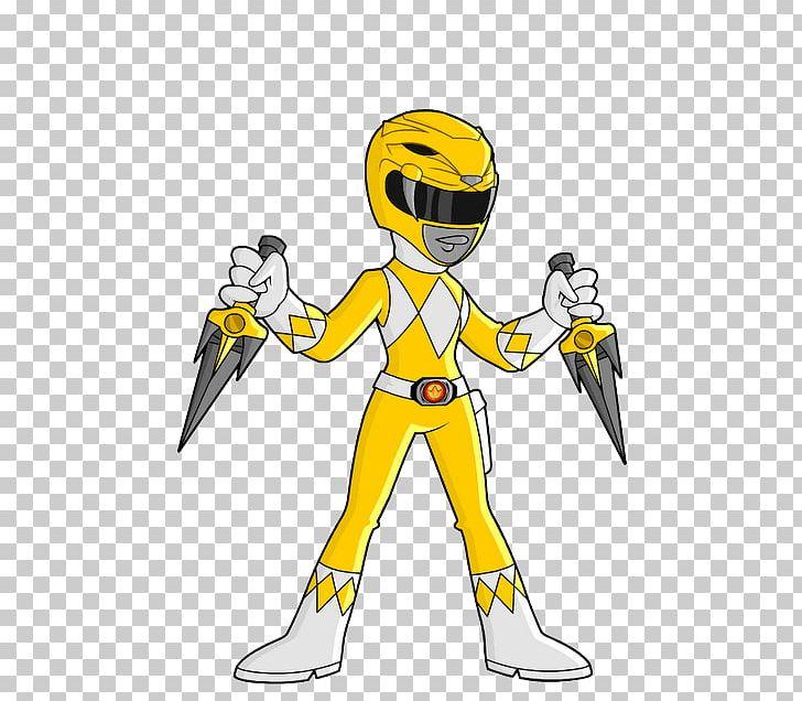 Trini Kwan Kimberly Hart Power Rangers Cartoon Animated Film.