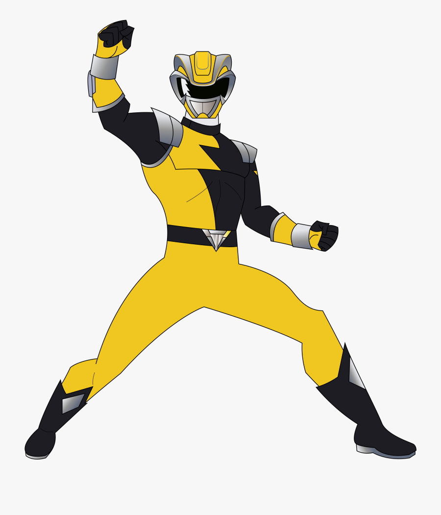 Yellow Clipart Power Rangers.