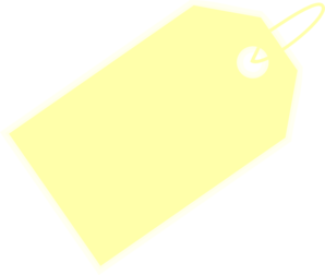 Price Tag Yellow Clip Art at Clker.com.