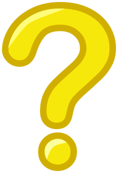 Yellow Question Mark Clipart.