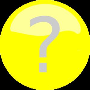 Yellow Question Mark Clip Art at Clker.com.