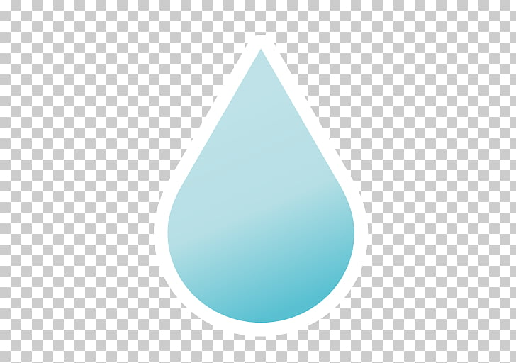 Turquoise Triangle, yellow raindrops PNG clipart.